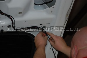 ShockPlate® wiring being installed