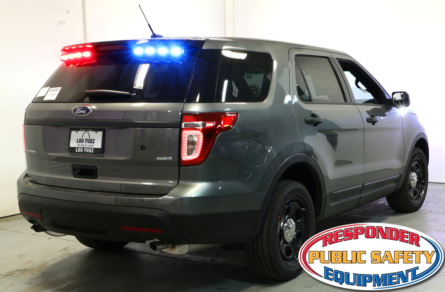 Ford Interceptor with New Apollo Series Grille Lights